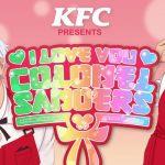 KFC presenta su nuevo juego «I love you Colonel Sanders»