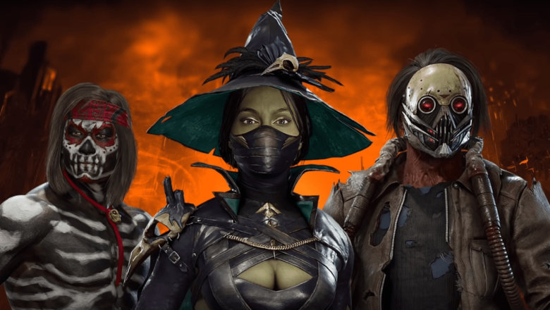 Las Skins de Halloween en Mortal Kombat 11