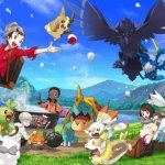 Pongan play al gameplay de Pokémon Espada y Escudo
