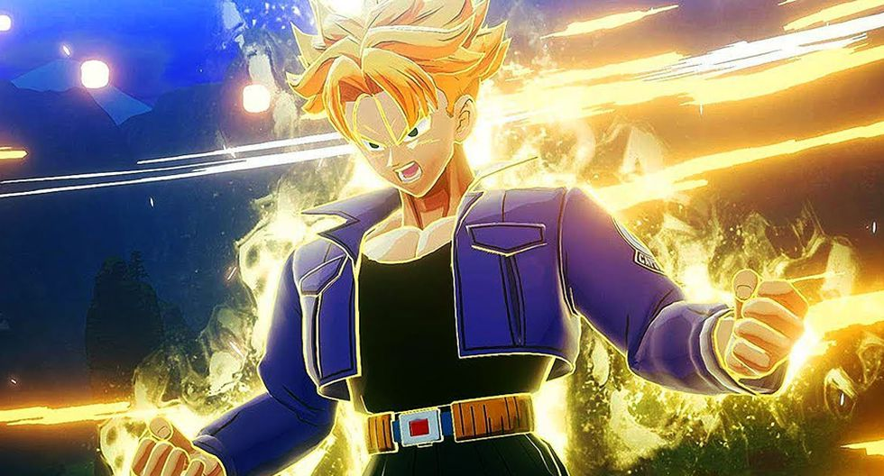 Trunks del futuro será un personaje jugable en Dragon Ball Z: Kakarot