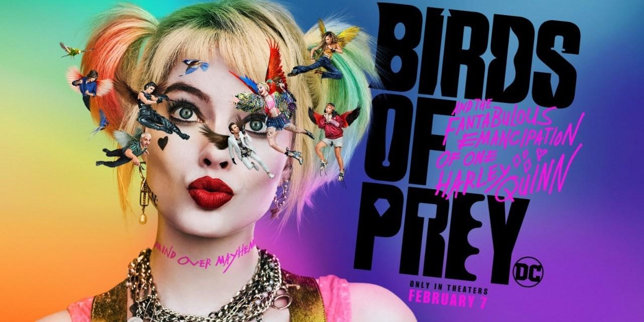 [Reseña] «Aves de Presa»: Locura, colores y mucho fempower
