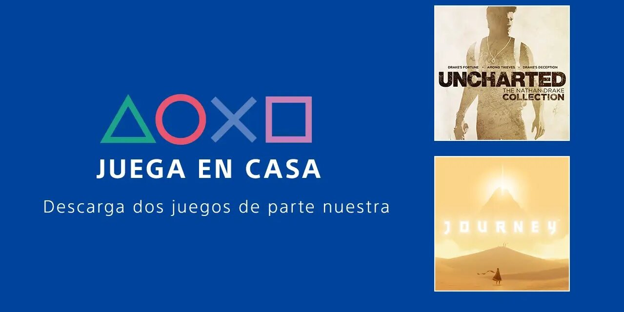 PlayStation presenta su iniciativa «Play at Home»