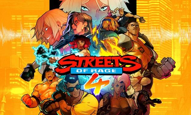 ¡El regreso en retro de un clásico! Streets of Rage estrena nuevo tráiler