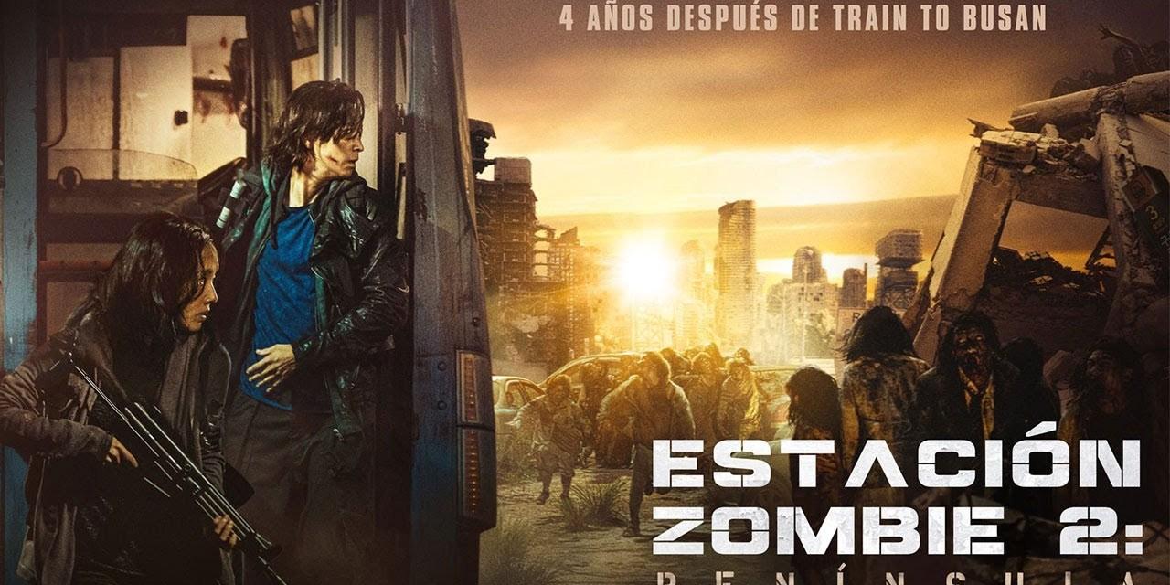Estación Zombie 2: Península estrena nuevos pósters