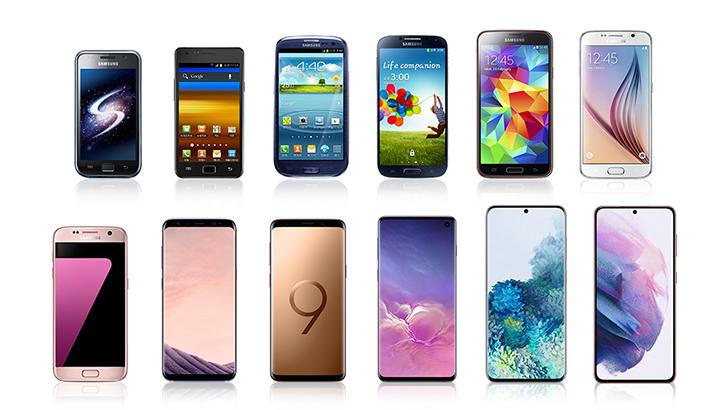 La historia de innovación de la serie Galaxy S: De AMOLED a Space Zoom