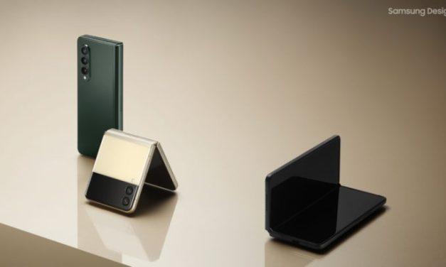 Sensualidad Tecnológica: los diseños del Galaxy Z Fold3 y el Galaxy Z Flip3 de Samsung
