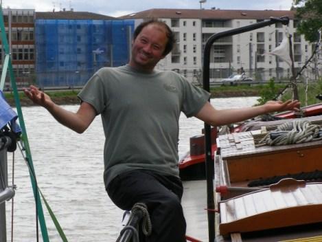 Canalfriends.com Peter Captain Sunset
