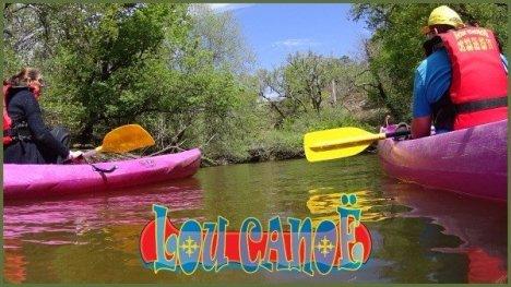 location canoe, location kayak, la leyre, Canalfriends