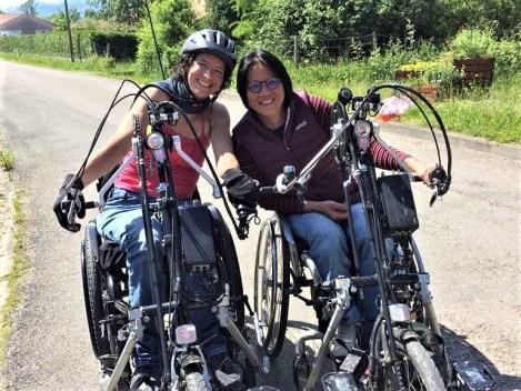 handbike; cyclotourisme