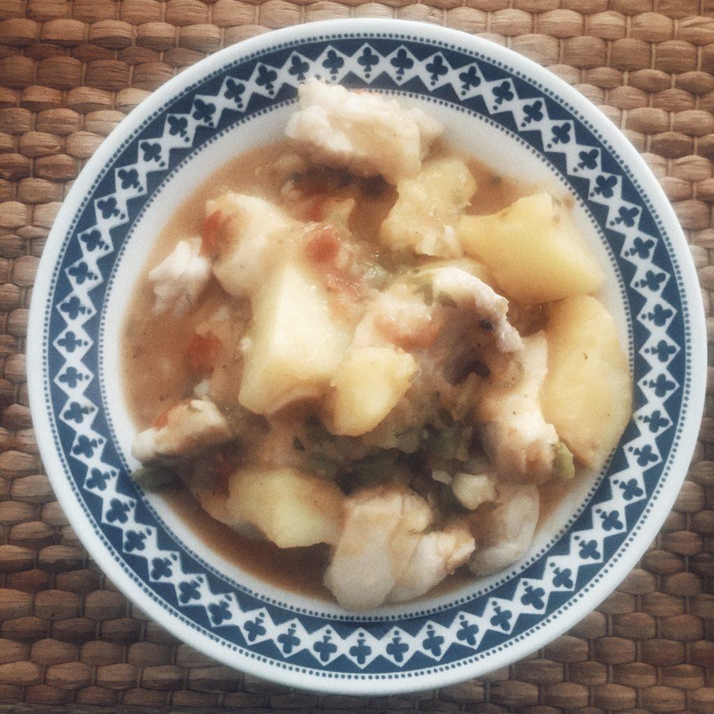 Marmitako de merluza
