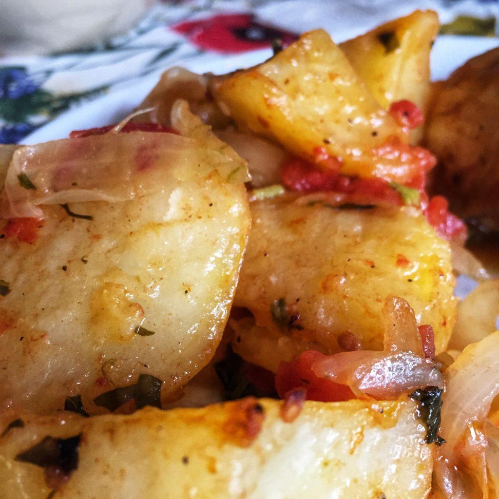 Las patatas asadas canallas