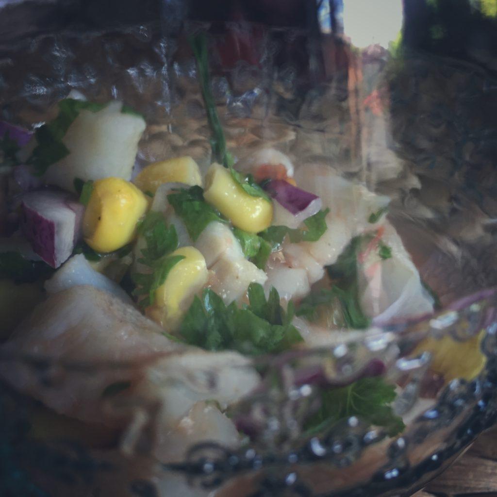 Ceviche de Bacalao