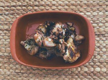 El pollo al ajillo