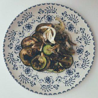Las verduras a la plancha M.U.B.