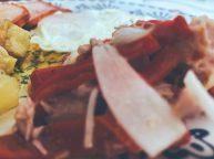 La ensalada de pimientos asados