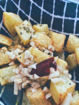 Patatas fritas a lo pobre