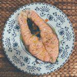 El salmón en papillote
