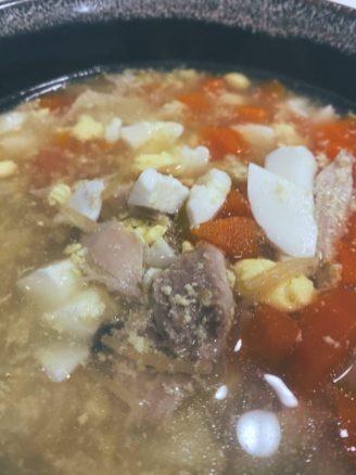 La sopa de picadillo