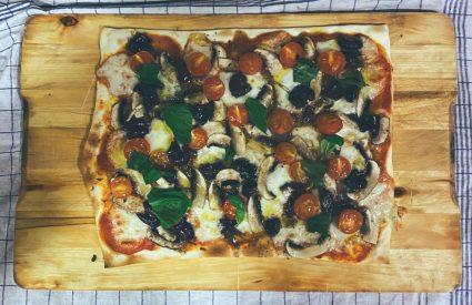 La pizza que quería ser tarta