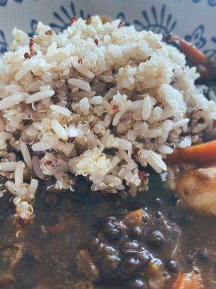 El poliamor de las lentejas, el arroz y la quinoa