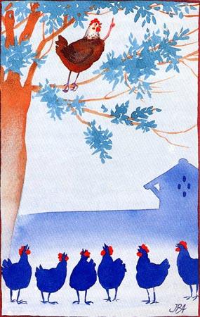 Resultado de imagen de memorias de una gallina dibujo
