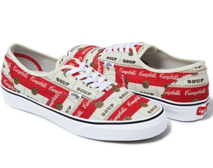 Supreme X Vans - Authentic