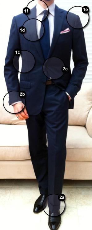 Terno masculino com medidas perfeitas