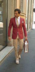 Aprovada pelo mais rígido controle de qualidade fashion: o homem italiano!
