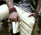 Não sou fã, mas muita gente prefere pulseiras com contas.