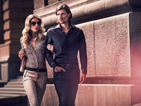 As luzes de Paris e a Torre Eiffel emprestam suas características para a  coleção verão 2014 da grife de moda masculina Dudalina. 166c48b6bba31