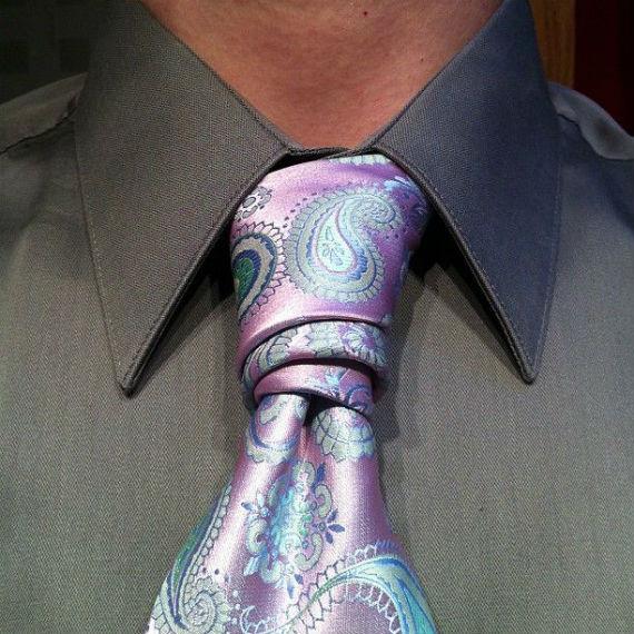 Nós de Gravata: O Van Wijk Necktie Knot