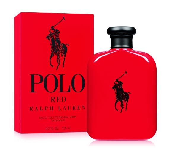 Só pelo frasco vermelho intenso já podemos concluir que o Polo Red da Ralph  Lauren c8d6f0884a9
