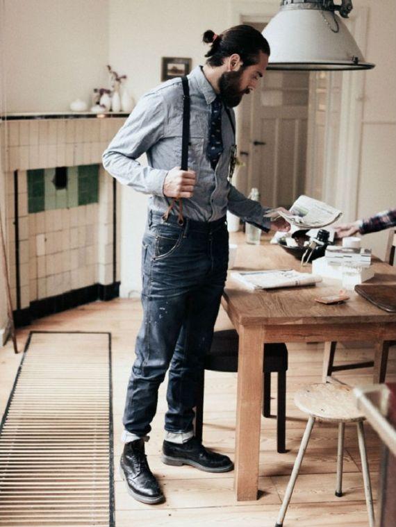 16 Looks Dão Ideias de Como Usar Suspensórios