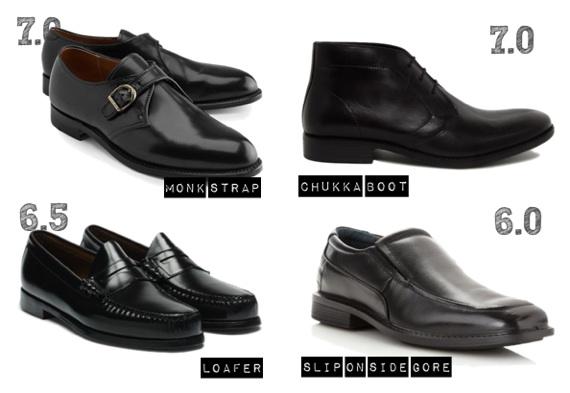 4e03bda4b Aqui chegamos aos calçados que, apesar de elegantes, são informais, pedindo  combinações mais simples, dispensando até o uso de gravata.