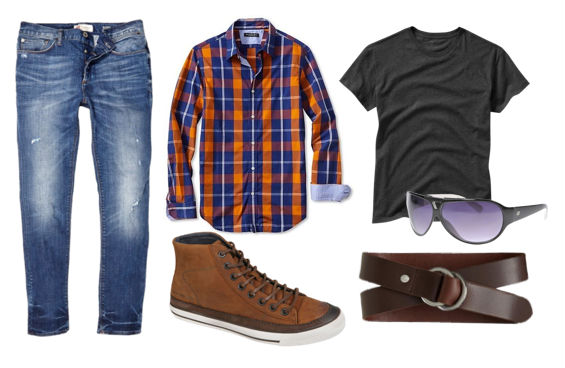 jeans_combincao_casual_camisa_xadrez