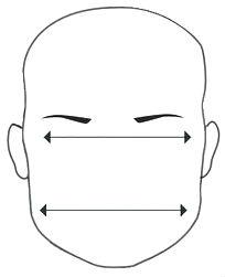 Um rosto com a fronte e maxilar largos, além do queixo pequeno, pode ser  considerado quadrado  b836162de5