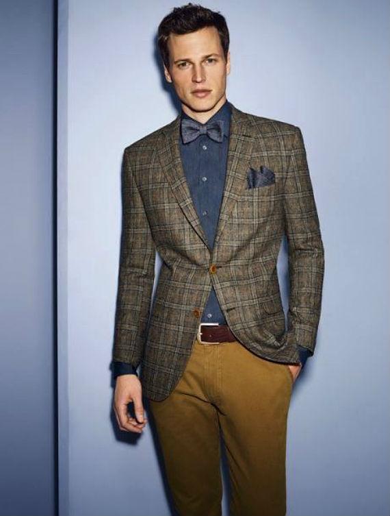 9 Coisas Que o Brasileiro Ignora na Moda Masculina - Blazer Xadrez