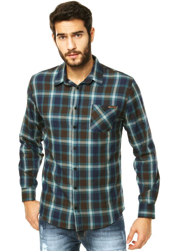 Sommer-Camisa-Azul-xadrez