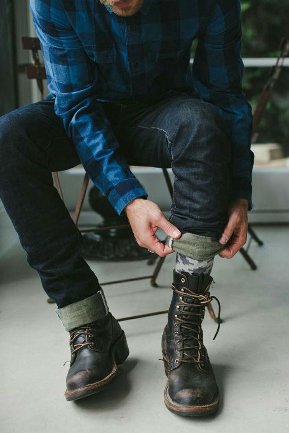 camisa-xadrez-jeans-coturno-look