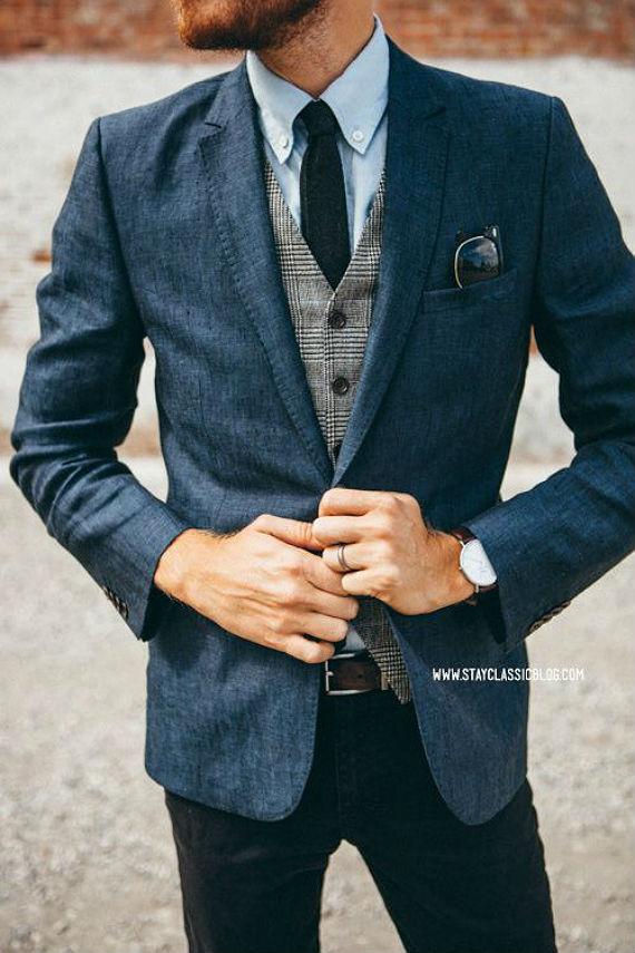 look_certo_colete_xadrez_casual