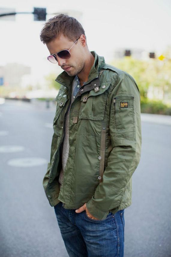 Guia de Roupas Masculinas Para o Inverno Elegante - Jaqueta Militar