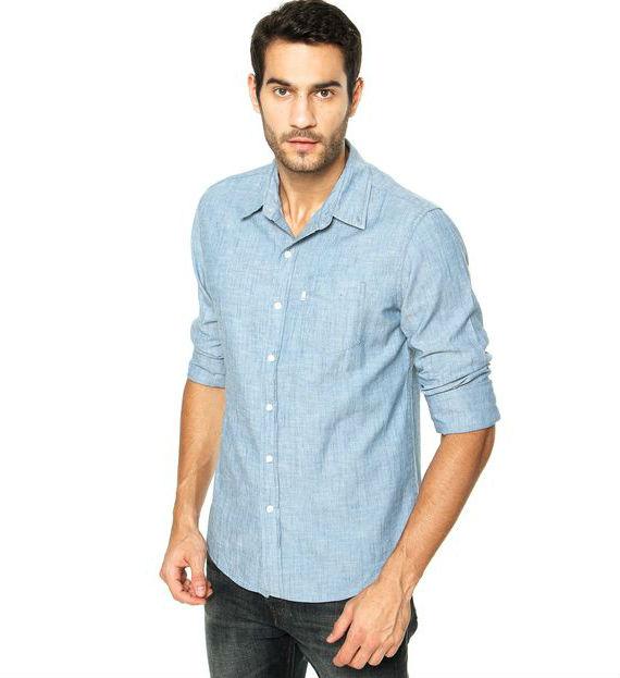 levis-camisa-clean-azul