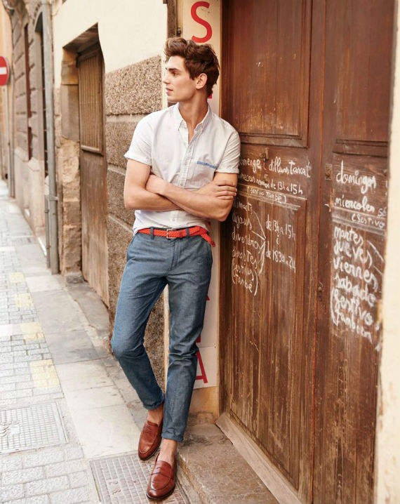 look_certo_camisa_manga_curta_alfaiataria