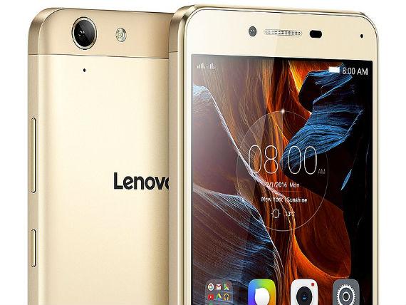Lenovo Vibe K5 - Dourado