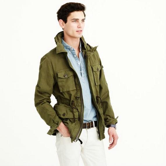 O Que é e Como Usar a Jaqueta Militar Masculina