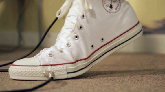All Wah: O Converse All Star Que Também é Pedal de Guitarra