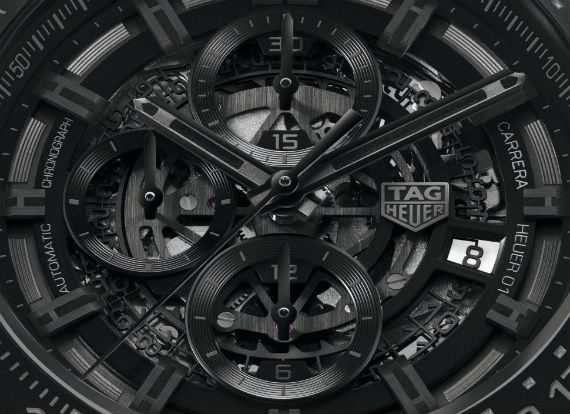 Carrera HEUER-01 Cerâmica All Black