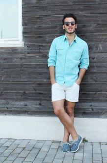look-shorts-branco-camisa