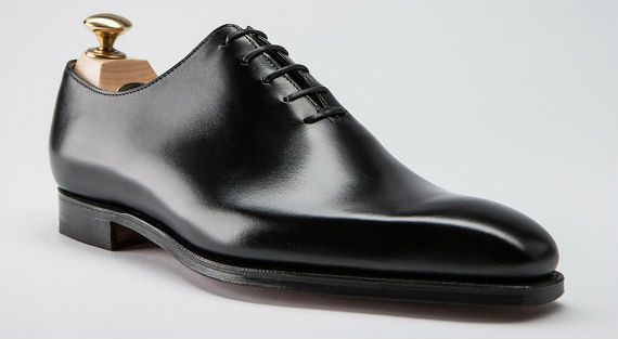 Oxford Wholecut: closed lacing