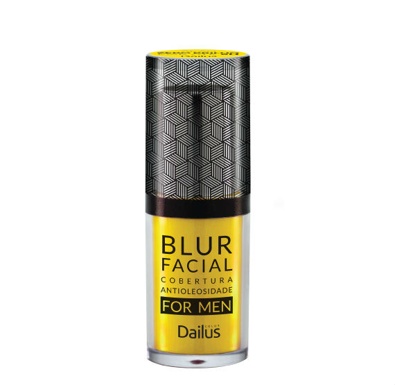 Testamos: Blur Facial For Men da Dailus Color